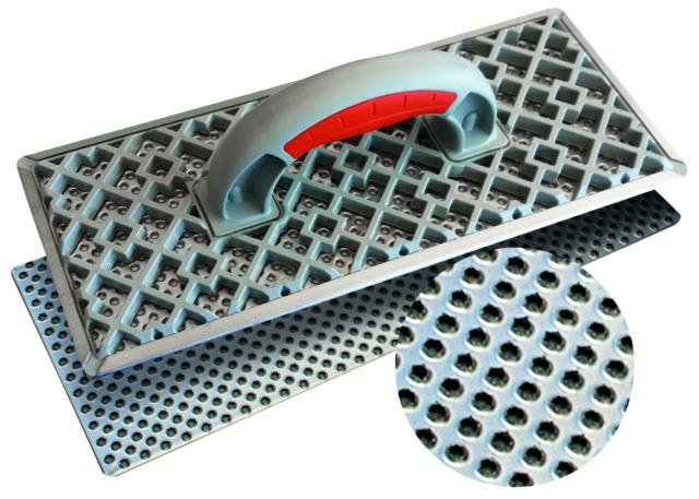 Taloche abrasive pour polystyrène et béton cellulaire