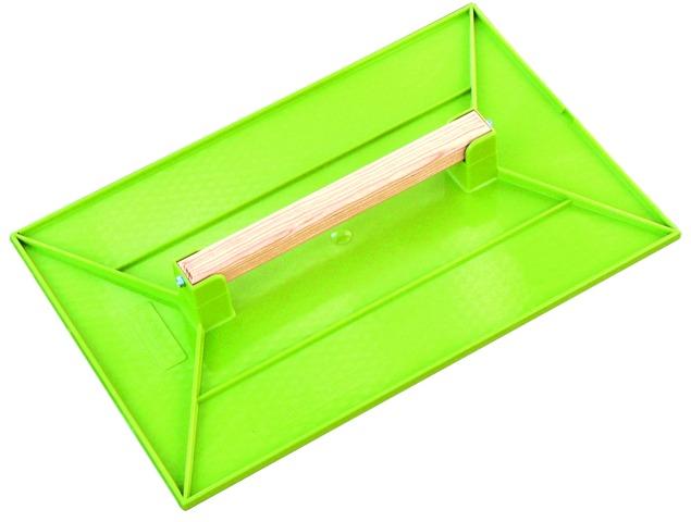 Taloche en ABS vert rectangulaire
