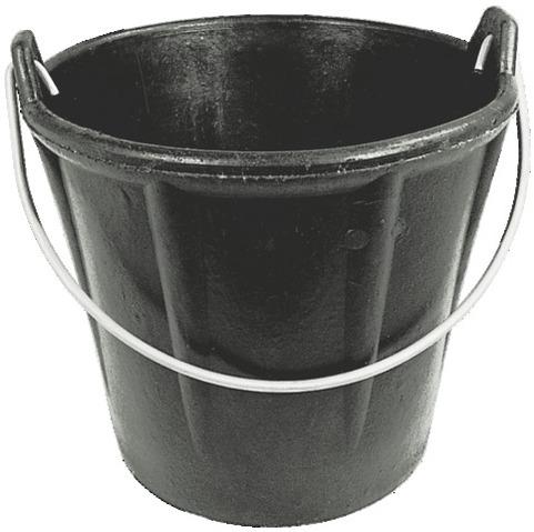 Seau caoutchouc 12 litres