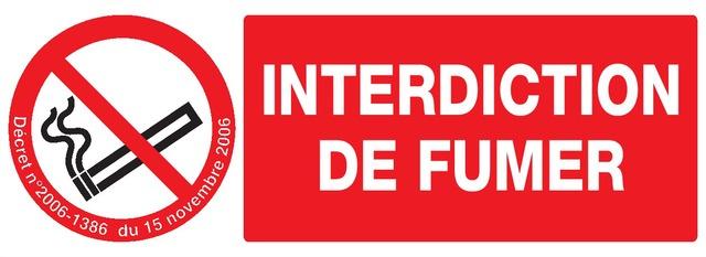 Interdiction defumer + Décret