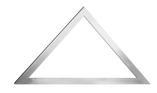 Équerre alu de carreleur à 45° (sans rivet)