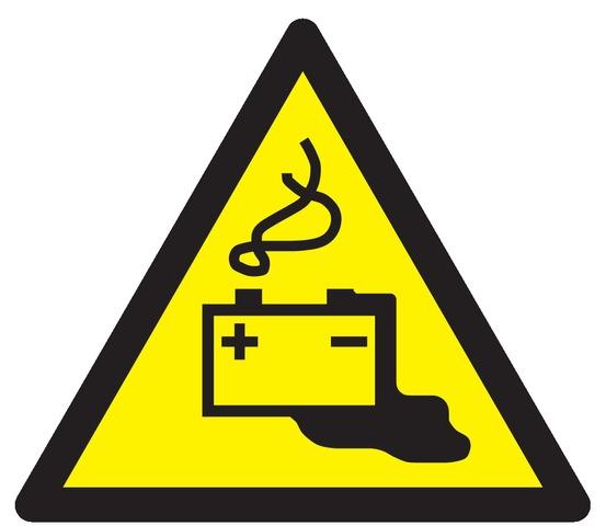 Danger, charge dela batterie encours