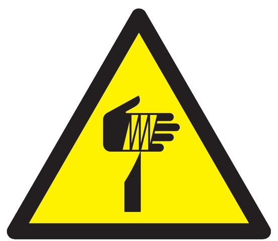 Danger, élément pointu