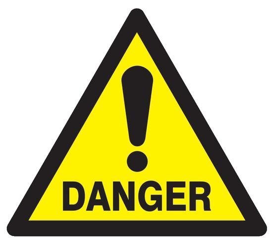 Danger (texte)