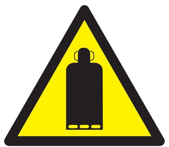 Danger bouteille degaz