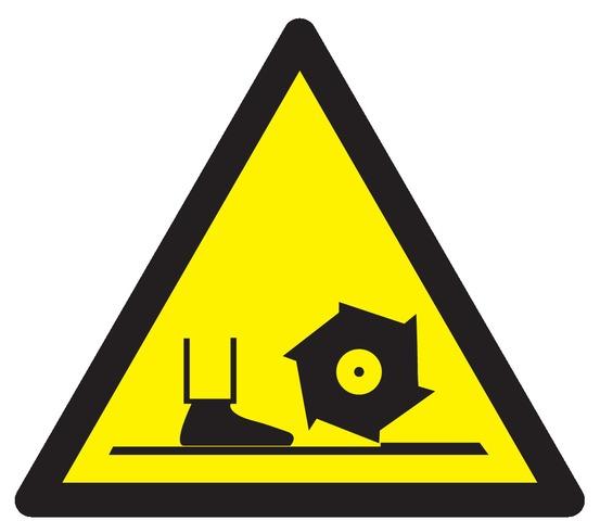Danger broche defraisage