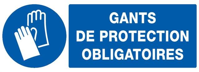 Gants deprotection obligatoires