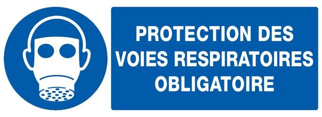 Protection desvoies respiratoires obligatoire