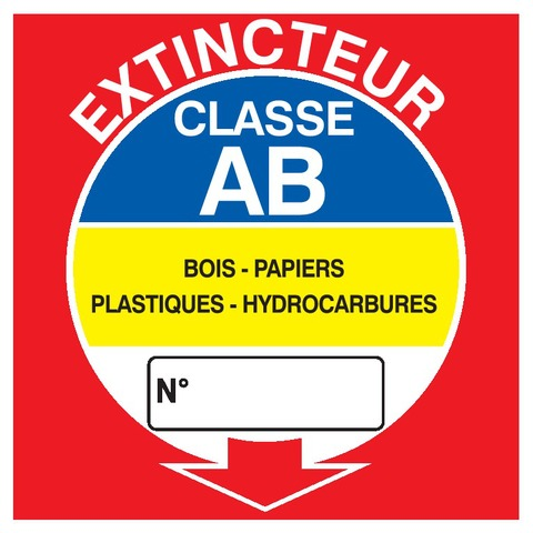 Extincteur classe AB