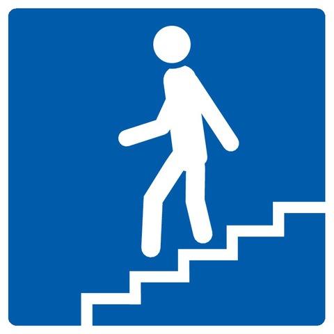 Escalier descendant