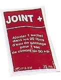 Dose de rechange d'adjuvant pour poche à joint