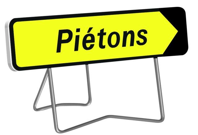 KD Piétons (Pieds Fixe + articulé)