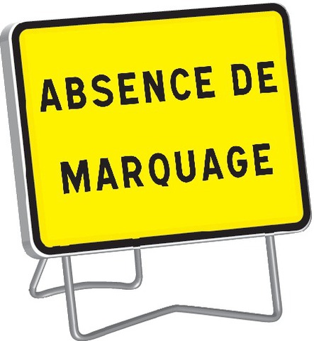 KC1 Absence de marquage