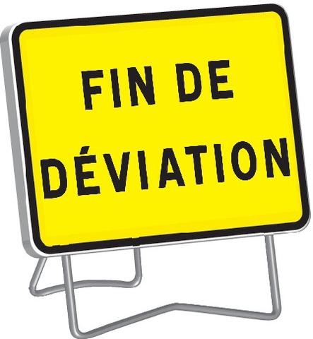 KC1 Fin de déviation