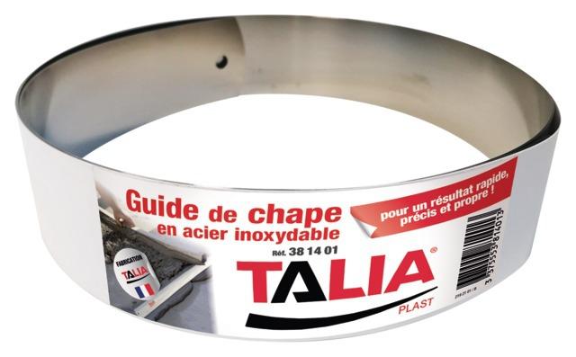 Guide de chape en acier inoxydable