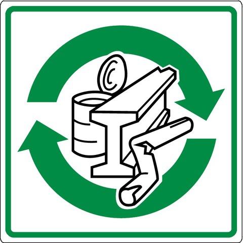 Recyclage dela ferraille