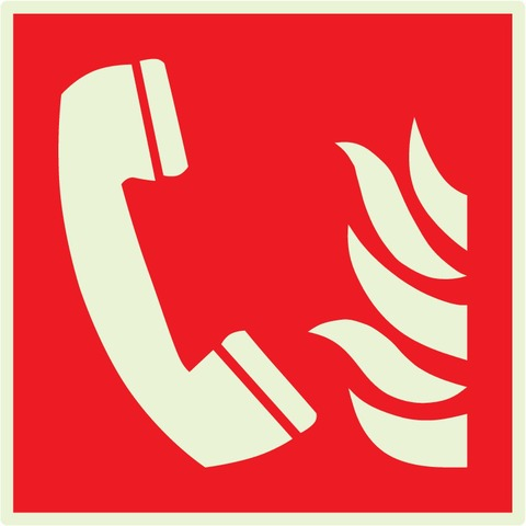 Téléphone àutiliser encasd'incendie