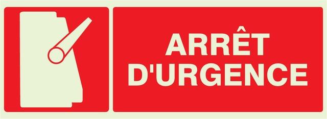Arrêt d'urgence