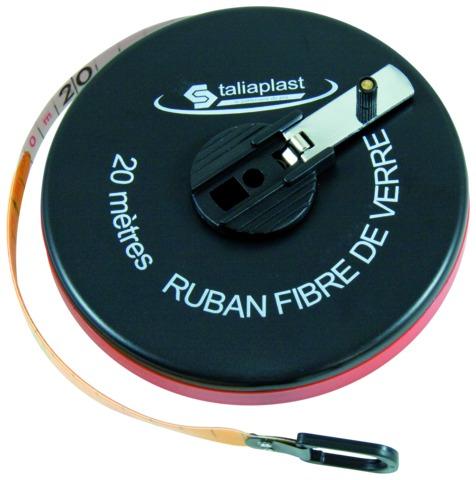 Décamètre ruban fibre de verre