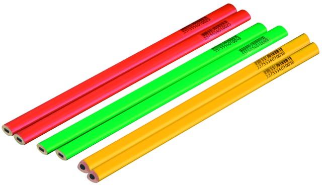 Crayons charpentier ou tailleur de pierre ou graphite