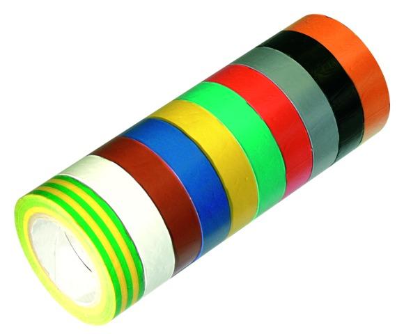 Rubans adhésifs multicolores